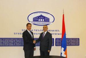 Глава МИД Арцаха встретился с делегацией Армянской ассамблеи Америки