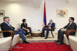 В рамках WCIT 2019 премьер-министр Армении провел встречи с представителями известных ИТ- компаний