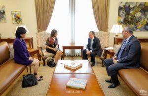 Министр иностранных дел Армении принял американских конгрессменов