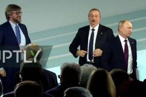 Путин не заметил Алиева на Валдайском форуме, азербайджанцы выходят на антирусский митинг