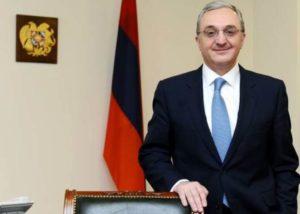 Глава МИД Армении с рабочим визитом посетит Туркменистан