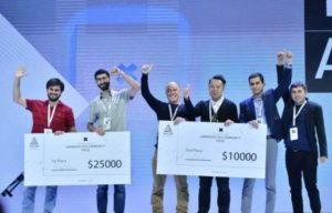 Шесть стартапов получили денежные призы в рамках WCIT