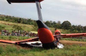 В Конго разбился президентский самолёт, на борту были россияне