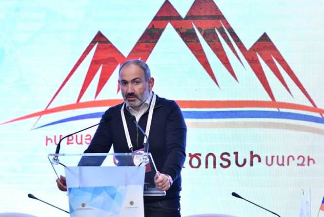 Рекордные резервы и средства для мегапроектов: Пашинян в Арцагацотне