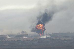 Турецкие оккупанты и подконтрольные Анкаре террористы захватили сирийский город Рас эль-Айн