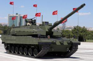 Германия запретила экспорт оружия в Турцию