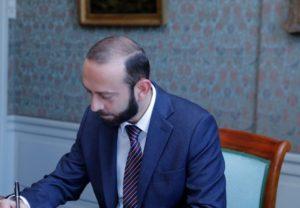 Арарат Мирзоян встретился со спикером парламента Сербии Майей  Гойкович