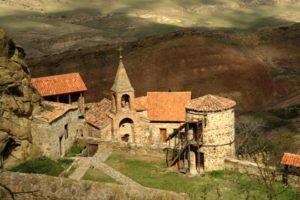 Грузины безвозвратно теряют монастырский комплекс Давид Гареджи