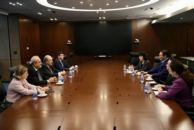 Президент Армении посетил Asahi Group