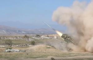 Армия обороны Арцаха провела тактические военные учения с боевой стрельбой