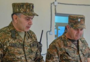 Начальник Генштаба побывал на командном пункте армейского соединения