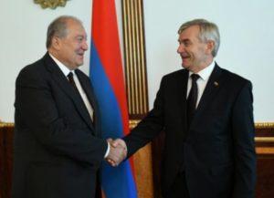 Армения придаёт большое значение углублению сотрудничества с Литвой