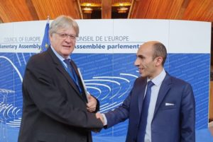 Омбудсмен Арцаха в Страсбурге провел ряд двусторонних встреч с высокопоставленными лицами Совета Европы