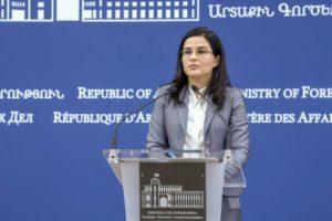 """В МИД Армении отреагировали на высказывания Лаврова в клубе """"Валдай"""" и призвали воздержаться от однобоких оценок"""