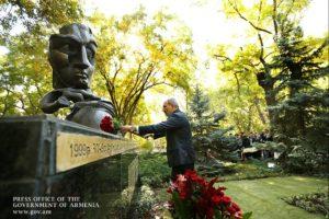 Премьер-министр Армении воздал дань уважения памяти жертв теракта 27 октября