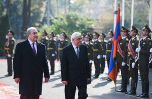 Президент Саркисян предложил провести провести в Ереване следующую встречу Армения- Греция-Кипр