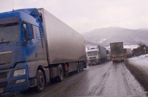 Закрыта Военно-Грузинская дорога, из-за снега