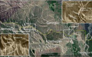 Азербайджанские войска вторглись в Грузию