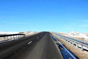 Завершился первый этап ремонта дороги Ниноцминда-граница Армении