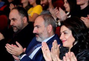 Никол Пашинян с супругой присутствовали на церемонии закрытия 5-го ежегодного фестиваля «Yerevan Jazz Fest 2019»