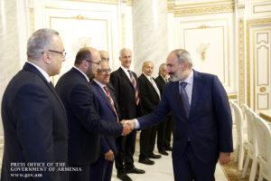 Никол Пашинян принял представителей Центрального правления Армянской либерально-демократической партии