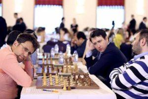 Мужская сборная Армении по шахматам одержала победу над сборной Азербайджана