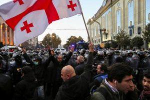 Согласно опросу IRI, «Грузинскую мечту» готовы поддержать 23%, оппозицию – 41%