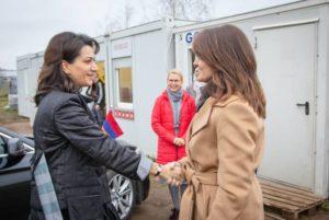 Анна Акопян и супруга премьер-министра Литвы обсудили возможности совместных инициатив