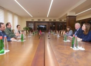 Министр обороны Армении и британский дипломат обсудили вопросы сотрудничества