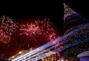 Мэр Еревана поздравил жителей столицы с наступающим Новым годом
