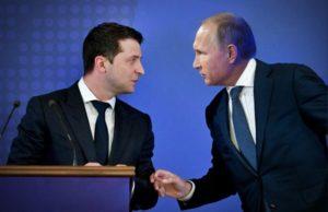 Путин и Зеленский поздравили друг друга с Новым годом