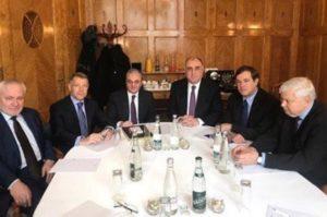 Главы МИД Армении и Азербайджана и сопредседатели МГ ОБСЕ выступили с совместным заявлением