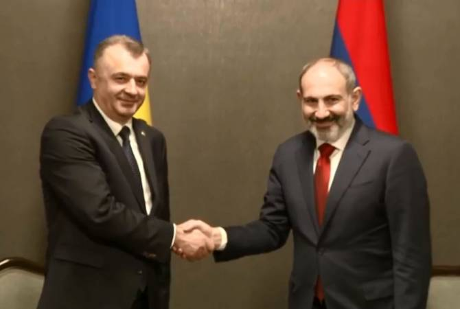 Премьер-министры Армении и Молдовы видят необходимость развития торгово- экономических связей
