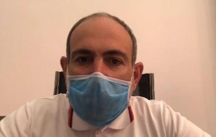 Никол Пашинян сообщил об ужесточении масочного режима в Армении