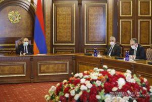 Премьер-министру Армении представлен отчет о деятельности МИД в 2019 году