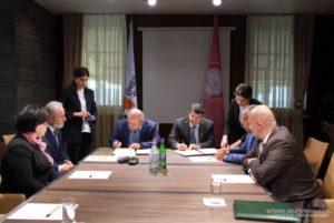 Араик Арутюнян и Самвел Бабаян подписали Меморандум о сотрудничестве