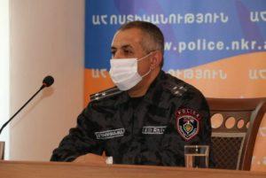 В Республике Арцах новый начальник Полиции