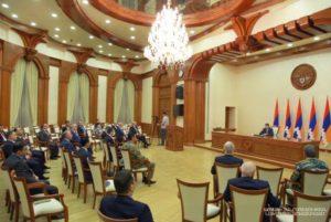 Президент Арцаха представил изменения в структуре правительства