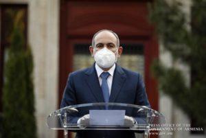 Никол Пашинян: необходимо нейтрализовать возможную антиэпидемиологическую пропаганду в стране