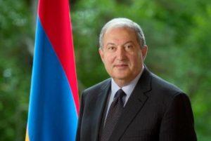 Президент Армении направил поздравительное послание королю Швеции