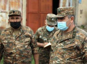 Генерал-лейтенант Давтян побывал в одной из воинских частей ВС Армении
