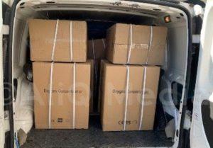 Армяне Грузии отправили в Армению 10 аппаратов ИВЛ