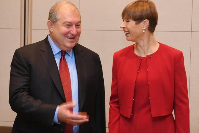 Президенты Армении и Эстонии провели телефонный разговор