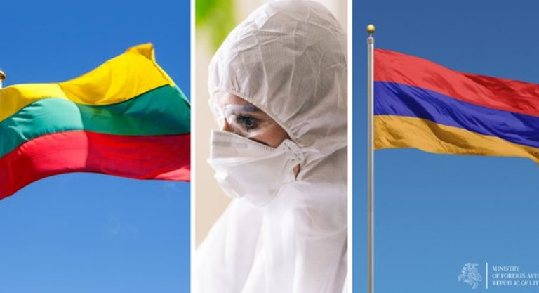 Литва направит в Армению команду врачей и экспертов для оказания помощи в борьбе с коронавирусом