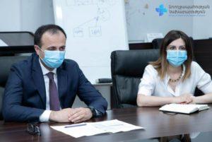 Министр здравоохранения Армении встретился с послом США