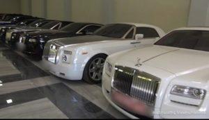 Автомобили Гагика Царукяна и «сокровища» госпожи Царукян