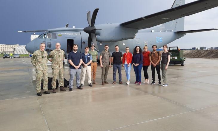 Литва направила в Армению бригаду врачей и медицинскую помощь
