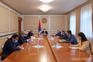 У президента Арцаха была обсуждена стратегия деятельности Инвестиционного фонда страны