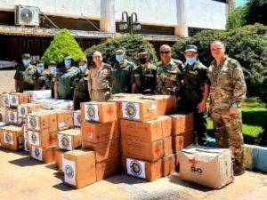Гуманитарная миссия Армении в Сирии передала больницам Алеппо медицинские принадлежности