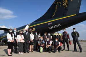Бригада итальянских врачей прибыла в Армению